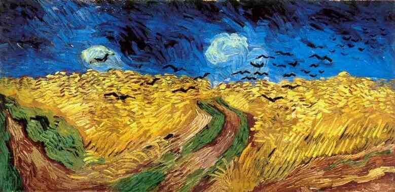 Champs de blé, Auvers-sur-Oise, juillet 1890